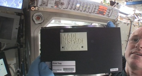 This Is The First Thing To Be 3D Printed In Space | Multiverse | Scoop.it