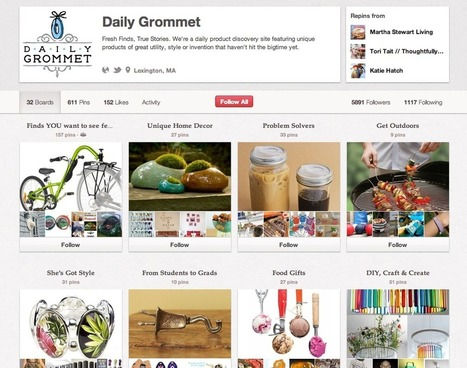 The 10 Commandments of Using Pinterest for Business — Amy Porterfield | Pinterest for Business Use | Scoop.it