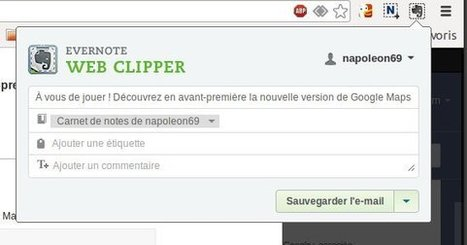 Gmail: Comment sauvegarder vos mails avec Evernote Web Clipper | Time to Learn | Scoop.it