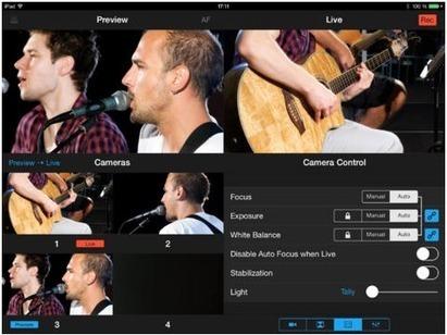 Retour d'expériences de captation vidéo avec l'application Recolive | Education et TICE | Scoop.it
