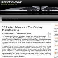 Innovative Scholar   21century learning   Scoop.it