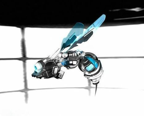 New project aims to upload a honey bee's brain into a flying insectobot by 2015 | bioniQ | Scoop.it