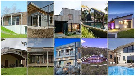10 maisons contemporaines et pourtant écologiques | Le flux d'Infogreen.lu | Scoop.it