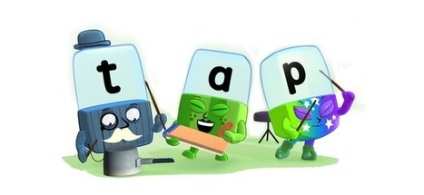 BBC - CBeebies - Alphablocks - Love to Learn: Fun with the alphabet and phonics   the chalk face K-6   Scoop.it