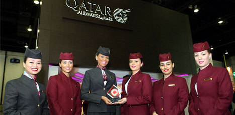 Qatar Airways vited Best Cabin Crew in the World at annual Business Traveller Middel Eart Awards | The future flight attendant :-) | Scoop.it