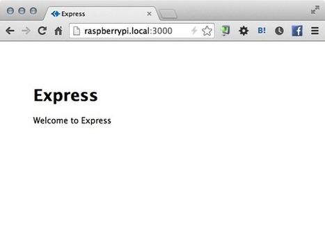 Twitter / tadokoro: Raspberry piで、Node.js ... | Raspberry Pi | Scoop.it