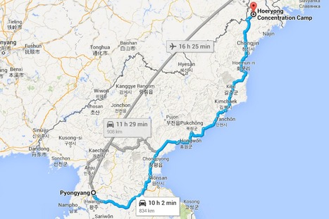 North Korea opens up to Google Maps (just don't ask for directions to the border) - Mirror.co.uk   GlobalGeo CV   Scoop.it