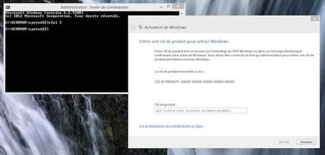 Comment enlever une licence Windows pour la remettre sur un autre ordinateur ? - Korben | 1FORMANET - Informatique et communication | Scoop.it