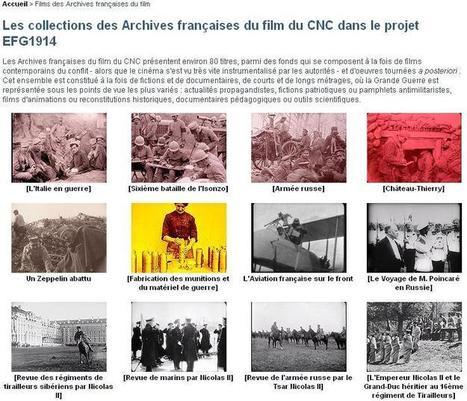 Site du jour (215) : La Grande Guerre, archives française du film | CGMA Généalogie | Scoop.it