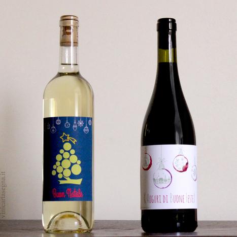 Natale 2015: Etichette per bottiglie di vino (scarica e stampa gratis) | Gavi e Dintorni: vino, cibo, territorio, eventi e cultura | Scoop.it