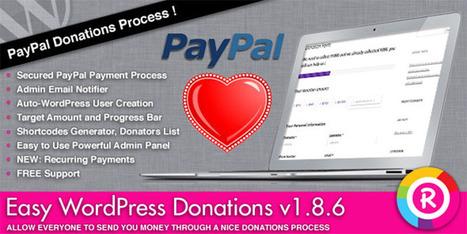 Best Wordpress Donation Plugin Ever - Wpdil | wordpress news,themes & tutorial | Scoop.it