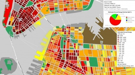 New York City Energy Mapping Project | green infographics | Scoop.it