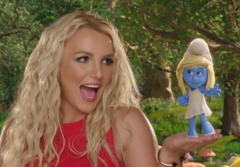 "Britney Spears Throws Smurf Village Dance Party In ""Ooh La La"" - Queerty | Nightlife | Scoop.it"