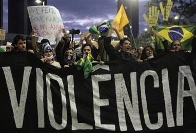 Brésil: les raisons d'un mouvement social inédit | Comores | Scoop.it