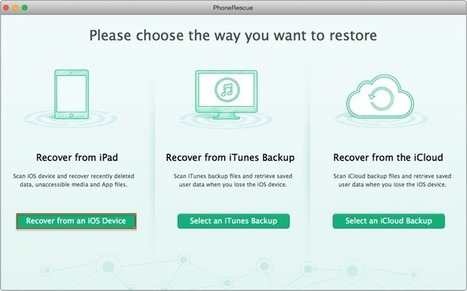 Recover Deleted Notes on iPad Air/ iPad mini – iMobie Inc.   iOS Data Recovery   Scoop.it