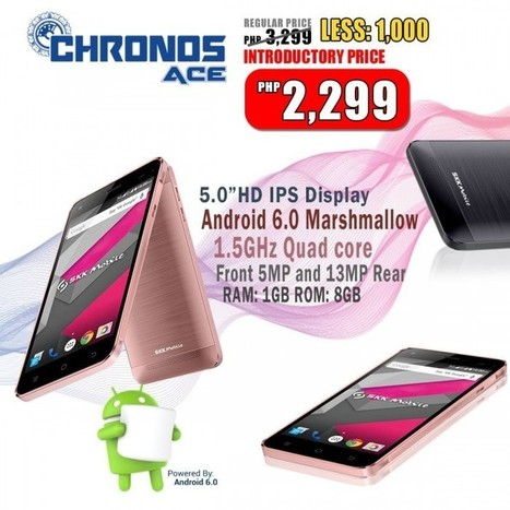 SKK Chronos Ace: Android 6.0 Marshmallow smartphone for only Php2,299 | NoypiGeeks | Philippines' Technology News, Reviews, and How to's | Gadget Reviews | Scoop.it
