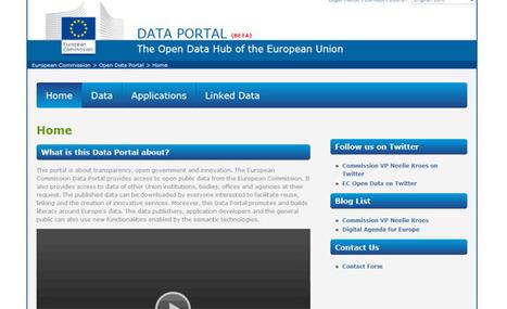 Union européenne : Open Data Portal | Emi Journalisme | Scoop.it