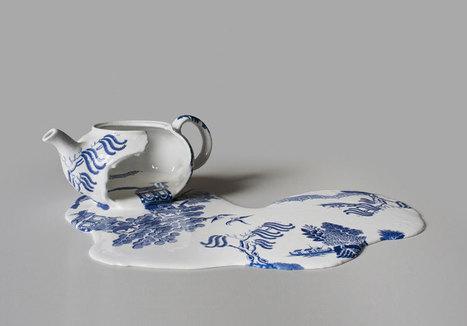 Melting Ceramics by Livia Marin | Colossal | Visual art | Scoop.it