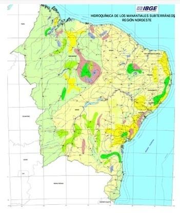 IBGE mapeia águas superficiais e subterrâneas do Nordeste | Geoprocessing | Scoop.it