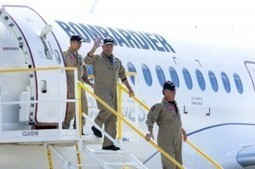 The Bombardier CSeries Jet Launches Successfully for the First Time   Aviation News   Scoop.it