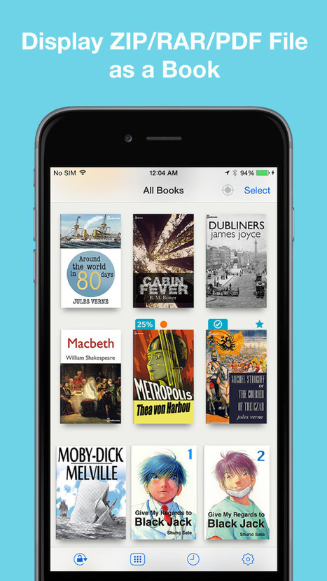App Shopper: Booklover - eBook reader for scanned books (Utilities) | Litteris | Scoop.it