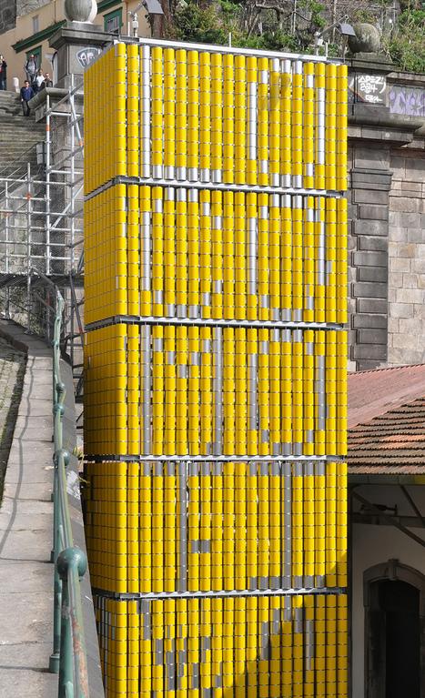 moradavaga realizes vira-lata installation using 2300 turnable tin cans | Tracking Transmedia | Scoop.it