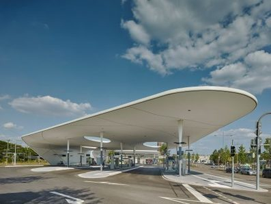 SWOOPING shell-like roofs provide shelter at Pforzheim Central Bus Station | The Architecture of the City | Scoop.it