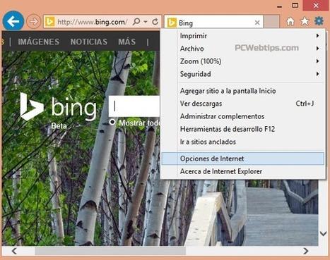 Como reiniciar el navegador Web a la configuracion predeterminada | PCWebtips.com | Tecnología y Software | Scoop.it
