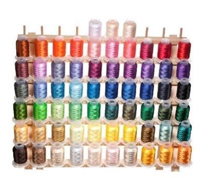 Embroidery Machine Thread 63 Count Brother Colors 40 Weight Polyester 550 Yards | Blue Jean Writer - Monna Ellithorpe | Scoop.it