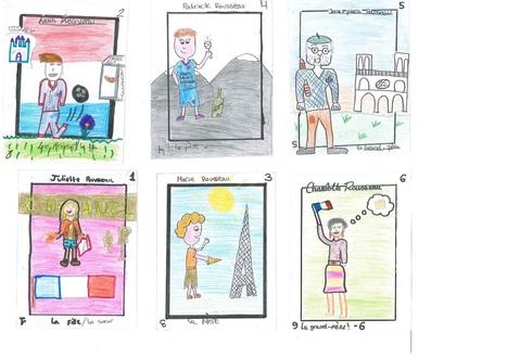 Mon défi : le jeu des 7 familles - Portraits - Voyages en Français | TICE et langues | Scoop.it
