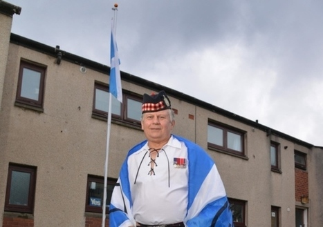 Veteran ordered by council to remove Saltire flag | My Scotland | Scoop.it
