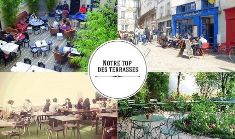 Que faire à Paris Paris terrasses: Patios fleuris, jardins secrets... | What's new in France : Whaff (wine, history, art, food : France) | Scoop.it