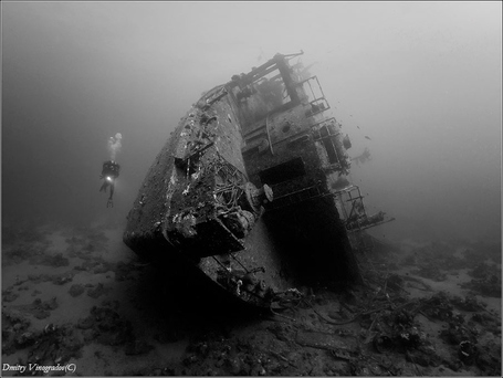 "Wreck Outside. Kimon M by Dmitry Vinogradov | ""Cameras, Camcorders, Pictures, HDR, Gadgets, Films, Movies, Landscapes"" 