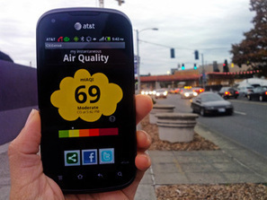 Portable Pollution Sensors Transmit Real Time Air Quality Data to Smart Phones - AZoSensors | Home Energy Performance | Scoop.it