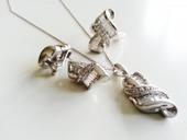 925 ayar gümüş baget taşlı zirkon taşlı takım(ZT00032) | Madammora | Scoop.it