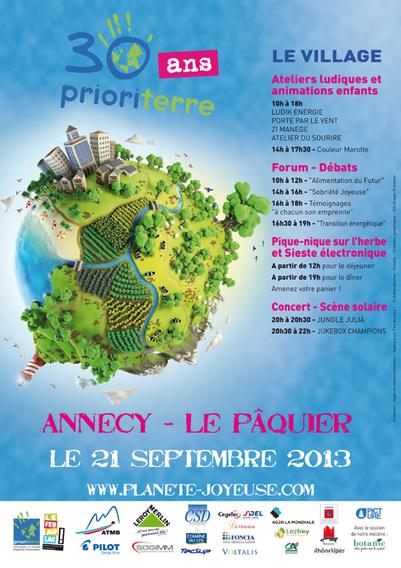 Prioriterre fête ses 30 ans | Ecoris l'école de l'entreprise - Annecy ... | Planete Joyeuse | Scoop.it
