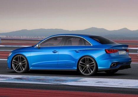 2014 Audi A3 Clubsport quattro Concept - Hardcore Version of Audi A3 sedan | modifycar.org | Scoop.it