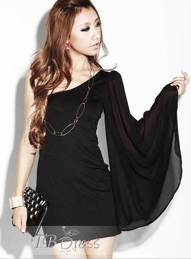 Pretty Europe Style Off Shoulder Chiffon Dress | beauty&fashion clothing | Scoop.it