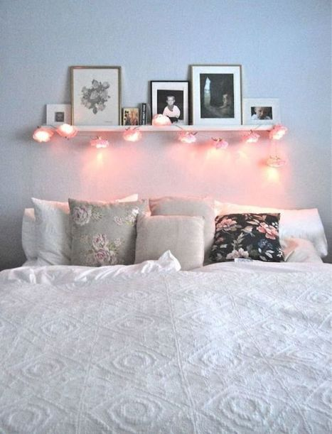 Sparkling Lamps for  Cute Apartment Bedroom Ideas | News Info | Scoop.it