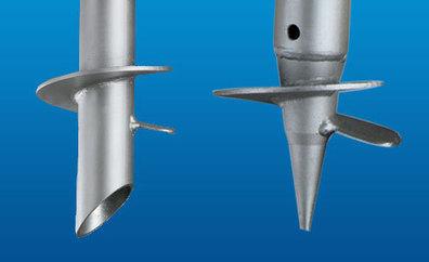 Hand and Machine Installable Screw Piles   screw piles   Scoop.it