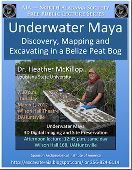 UAH History Events: AIA Talk: Underwater Maya 1 March 2012 | ScubaObsessed | Scoop.it