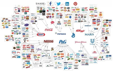 10 Corporations Control Almost Everything You Buy | Marc's private collection | Scoop.it
