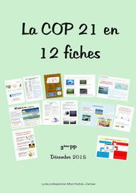 12 fiches pour comprendre la COP 21 | HUTINEL - Actualités | CLEMI -  Des nouvelles des élèves | Scoop.it