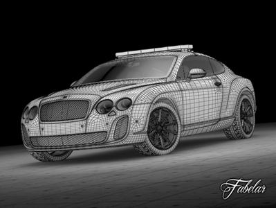 Bentley Continental SS Dubaï 3D | 3D Library | Scoop.it