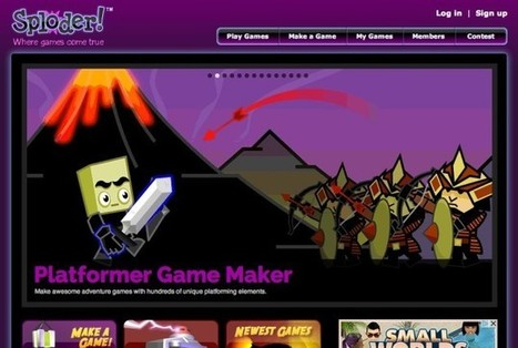 5 Brilliant 'Design Your Own Game' Websites for Students | Digital Collaboration | Scoop.it
