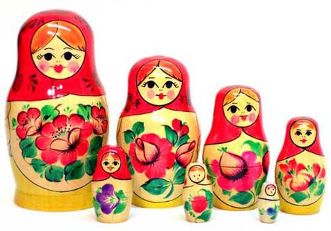 Matryoshka — Russian Nesting Dolls | Kokeshi Doll | Scoop.it