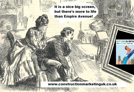 Empire Avenue shakes up the Social Media scene! Social Media satire 11. - The MarketingM8 blog... | Social media satire | Scoop.it