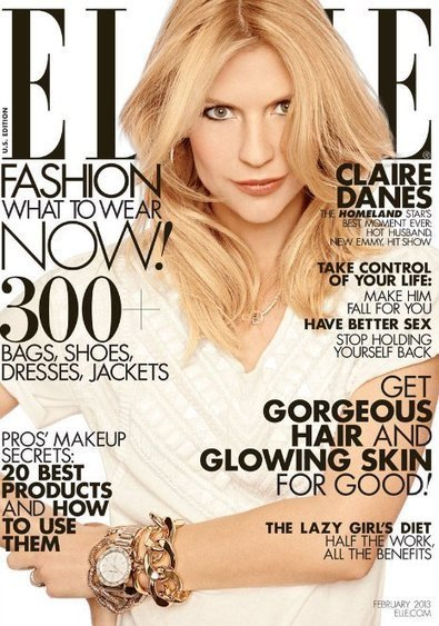Claire Danes: Elle February 2013 Issue | Fashion Fame | Stylish Fashion | Scoop.it