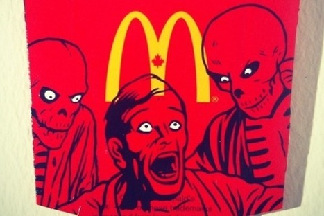 Pop Art Paintings On McDonald's Fries [Pics] - PSFK   Pop Art - Movimento Artístico   Scoop.it