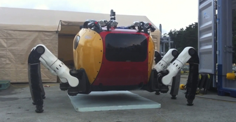Crab-Like Robot Walks Along the Ocean Floor to Investigate Shipwrecks | Amazing Science | Scoop.it